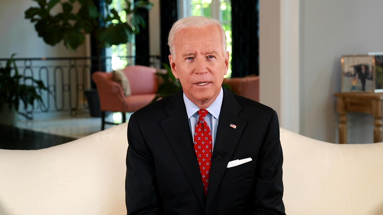 The 47th Vice President of the United States, Joseph R. Biden, Jr. accepted the 2018 Luminary Leadership Award. (Video: Business Wire)