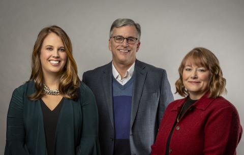 L to R: Brianne C. Squibb, Robert J. Blommel, CFP®, Kelly M. Luken (Photo: Business Wire)