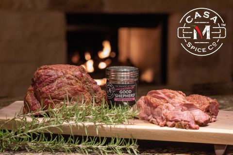 Smoked Leg of Lamb with Casa M Spice Co™ Uncontrolled Good Shepherd™ (Photo: Business Wire)