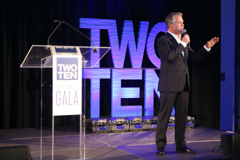 Skechers president Michael Greenberg accepts the T. Kenyon Holly Humanitarian Award at 79th Annual T ...