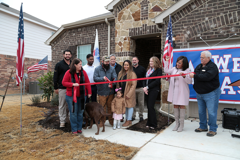 HAVEN Grant Funds Veteran's New Family Home | Business Wire