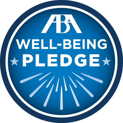 Dorsey & Whitney has joined the inaugural class of signatories to the American Bar Association's newly-launched Well-Being Pledge & Campaign, aimed at improving the substance use and mental health landscape of the legal profession. (Logo: American Bar Association)