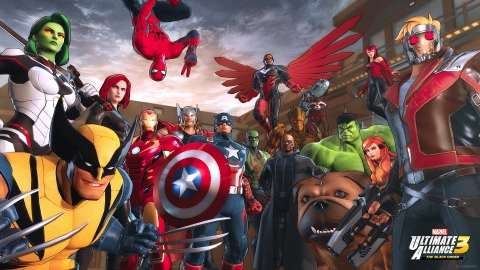 MARVEL ULTIMATE ALLIANCE 3: The Black Order is heading exclusively to the Nintendo Switch system for Super Hero gaming action at home or on the go. (Photo: Business Wire)