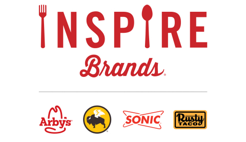 Inspire Brands is a multi-brand restaurant company whose portfolio includes more than 8,300 Arby's, Buffalo Wild Wings, SONIC Drive-In, and Rusty Taco locations worldwide. (Photo: Business Wire)