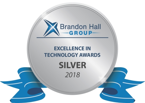 Brandon Hall Excellence in Technology Award (Photo: Business Wire)