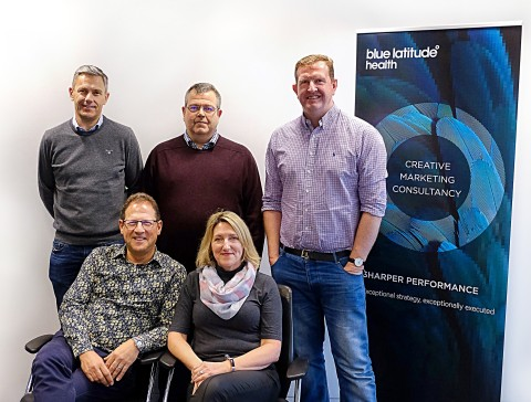 Dominic Miller, Fred Bassett, Oliver Dennis (back row from left to right), Martin Brass, Gail Flockh ...