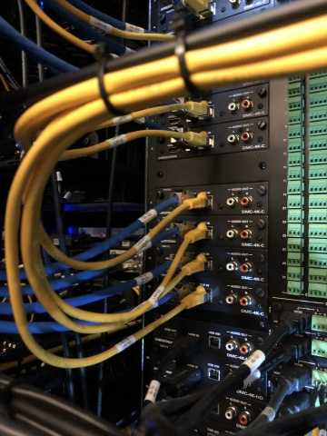 HB Communication installation of Belden cable & connectivity. (Photo: Business Wire)