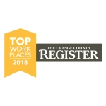 Toshiba Wins 2018 Orange County Register Top Workplaces Award
