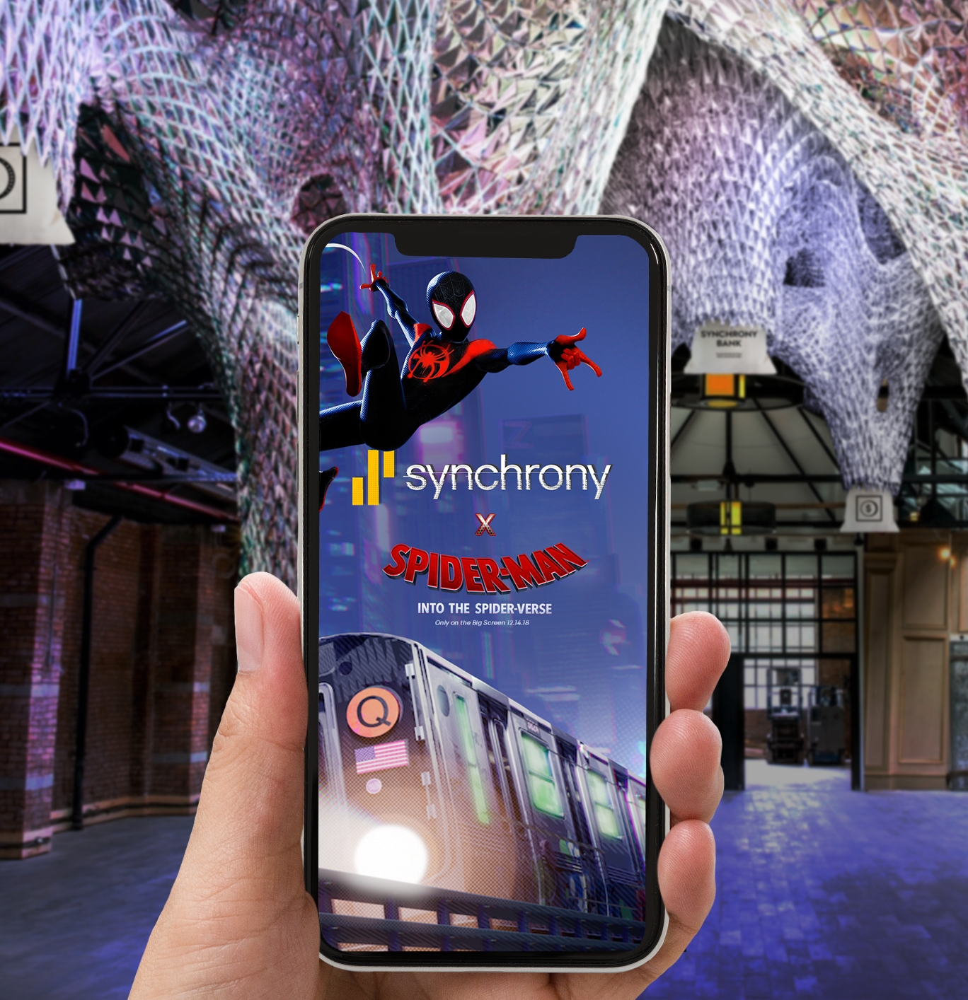 Synchrony Bank and Sony Pictures Entertainment Spin Web of