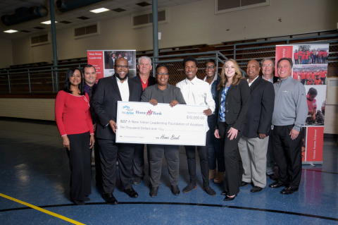 A New Vision Leadership Foundation of Acadiana received $10,000 in Partnership Grant Program funds from Home Bank and FHLB Dallas to support its science, technology, engineering and math education programs in minority communities in Lafayette, Louisiana. (Photo: Business Wire)