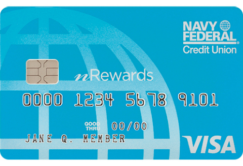 Navy Federal's nRewards Secured Credit Card (Graphic: Business Wire)