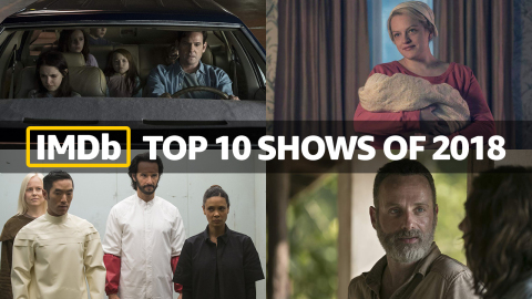 IMDb Top TV Shows of 2018, as determined by page views. (Photo courtesy of IMDb)
