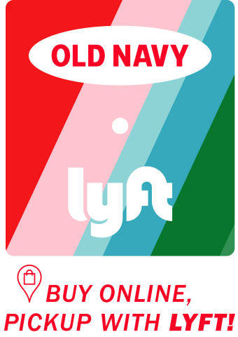 Old Navy and Lyft Team Up to Make Last-Minute Holiday Shopping Easier Than Ever (Graphic: Business Wire)