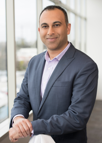 Navin Shenoy is executive vice president and general manager of the Data Center Group at Intel Corporation. Shenoy and Gregory Bryant will lead Intel's news conference at 4 p.m. Jan. 7, 2019, at 2019 CES. (Credit: Intel Corporation)