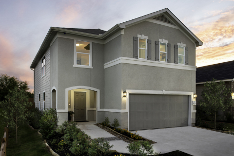 New KB homes now available in southeast San Antonio. (Photo: Business Wire)