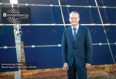 8minutenergy CEO TOM Buttgenbach's technology-focused background and development experience will be instrumental in the company's growth strategy. (Photo: Business Wire)