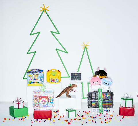 Assortment of top creative gifts for kids (Photo: Business Wire)