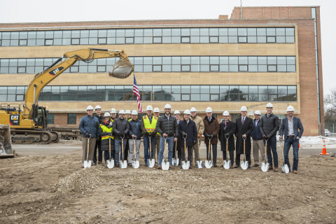 Ground-breaking ceremony for LakeHaus, December 4, 2018. (Photo: Business Wire)