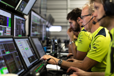 Spirent's technical partnership with Aston Martin Racing has dramatically reduced the team's high-sp ...