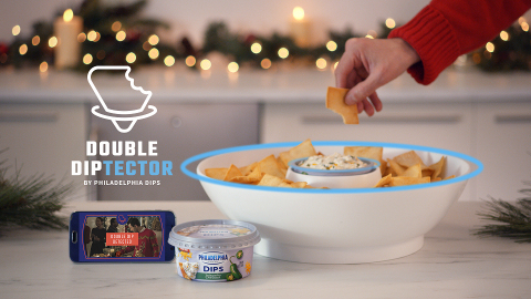 "New Philadelphia Dips Creates the World's First ""Double Diptector"" to Catch Double Dippers in the Ac ..."