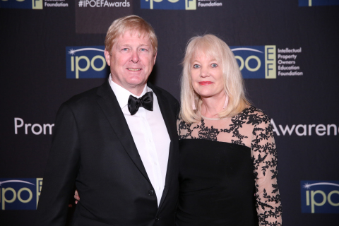 David Hall, Founder and CEO of Velodyne Lidar, and wife Marta Hall, President and CBDO of Velodyne Lidar. (Photo: Business Wire)