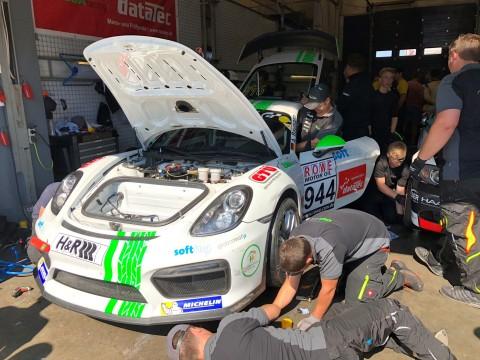 Porsche GT4 Cup mit Gemalto und GlobalmatiX Vernetzungslösung