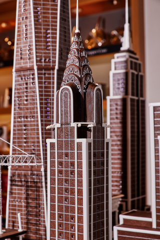 Gingerbread City a NYC Skyline Replica Presented By Williams Sonoma and StreetEasy (Photo: Business Wire)