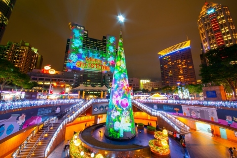 The world's most amazing Christmas trees. (Photo: Business Wire)