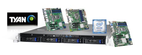 TYAN's New Intel Xeon E-2100 Processor-based Platforms Increase Reliability and Security for Entry Servers. (Photo: Business Wire)