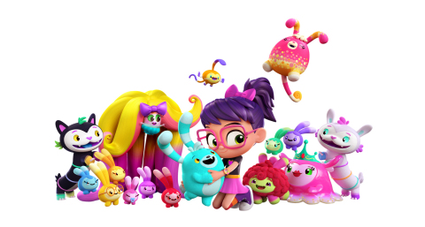 Nickelodeon's Brand-New Animated Preschool Series, Abby Hatcher, Created and Produced by Spin Master ...