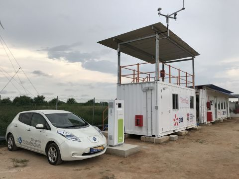 Nuvve's technology helps bridge the gap between transportation and energy by providing storage for r ...