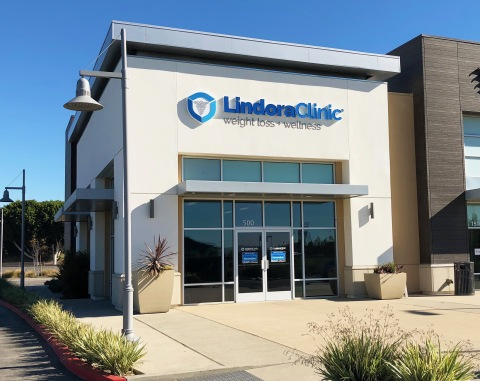 Lindora has stepped up their growth plan and opened four new clinics in Southern California (Tustin location shown). (Photo: Business Wire)