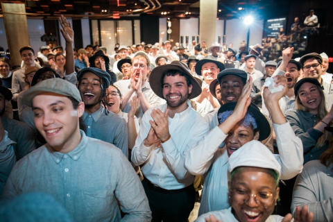 Starbucks employs more than 5,000 partners (employees) in the New York City area, including nearly 300 partners within the Reserve Roastery New York. (Photo: Starbucks)
