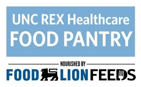 UNC Rex Healthcare Food Pantry Nourished by Food Lion Feeds