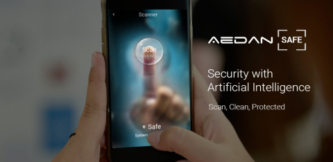 Aedan [Safe] is currently available on the Amazon app store, the Google Playstore, and coming soon to Apple iOS devices. (Photo: Business Wire)