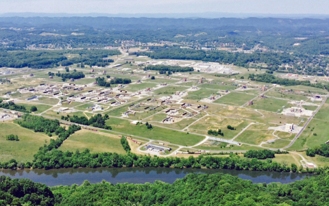 BAE Systems will replace the coal-fired power supply at Holston Army Ammunition Plant with natural gas steam facility to greatly reduce the facility's environmental footprint in Kingsport, Tenn. (Photo: BAE Systems, Inc.)