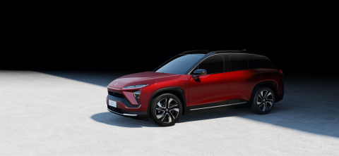 The NIO ES6 brings a comfortably large space (Photo: Business Wire)
