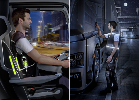 Intelligent Wearables for lower energy consumption and increased safety and comfort for workers (Pho ...