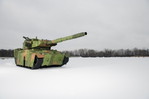 BAE Systems' MPF solution combines new technology with proven capability to provide the Infantry Brigade Combat Team (IBCT) with a highly agile, armor-protected platform that delivers overwhelming and precise firepower for use across the spectrum of terrains and operations. (Photo: BAE Systems)