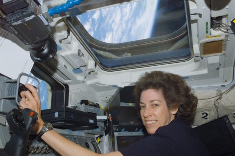 Ellen Ochoa, veteran astronaut, former director of the Johnson Space Center and vice chair of the Na ...