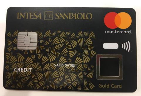 Biometric payment card (Photo: Gemalto)