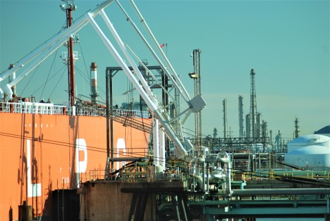 The Impact of the Houston Ship Channel Economy on Global Hydrocarbon Demand. (Photo: Enterprise Prod ...