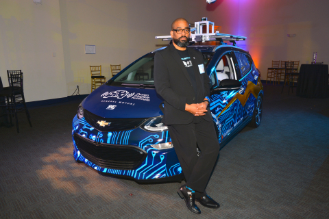 Karreem Hogan of North Carolina A&T State University, participant in the AutoDrive Challenge. (Photo: Business Wire)