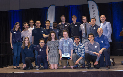 The University of Toronto team participating in the AutoDrive Challenge. (Photo: Business Wire)