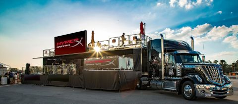 Naming Rights to HyperX Esports Truck Unveiled in Time for CES 2019. (Photo: Business Wire)