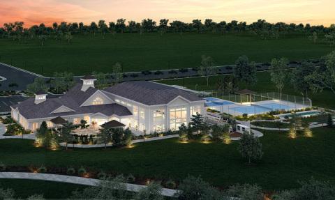 Future amenity center for Del Webb Carolina Gardens, Fuquay-Varina, NC.(Photo: Business Wire)
