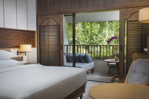 King room in Hyatt Regency Bali (Photo: Business Wire)