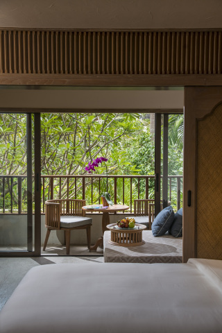 Room balcony at Hyatt Regency Bali (Photo: Business Wire)