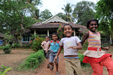 Radisson Hotel Group and Radisson Rewards are proud to partner with SOS Children's Villages in an effort to provide vulnerable children all over the world with a safe home and basic needs (Photo: Business Wire)