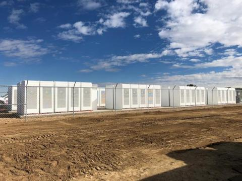 The largest Lithium-ion battery storage installation in Colorado, which ENGIE North America developed and constructed for United Power, was inaugurated earlier this week. (Photo: Business Wire)